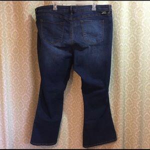 Torrid Source of Wisdom slim boot cut jeans 22r
